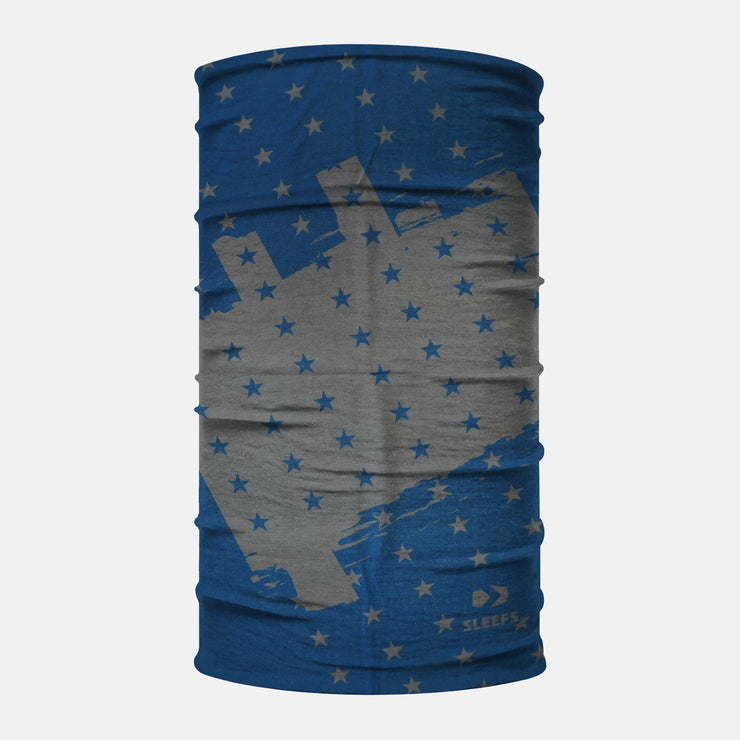 Disrupted USA Blue Navy Neck Gaiter