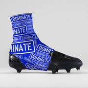 Dominate Blue Spats / Cleat Covers