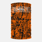 Dominate Orange Neck Gaiter