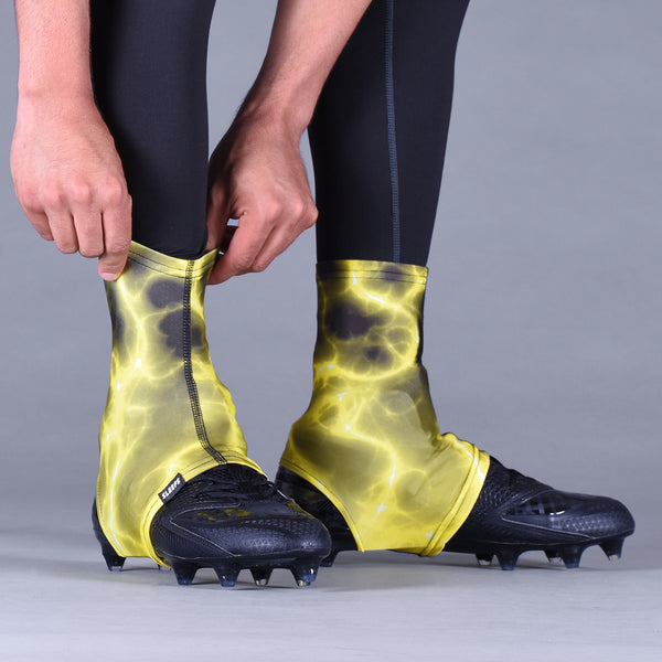 Electric Yellow Spats / Cleat Covers