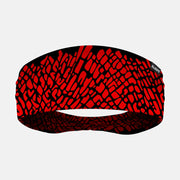 Elephant Skin Red Headband