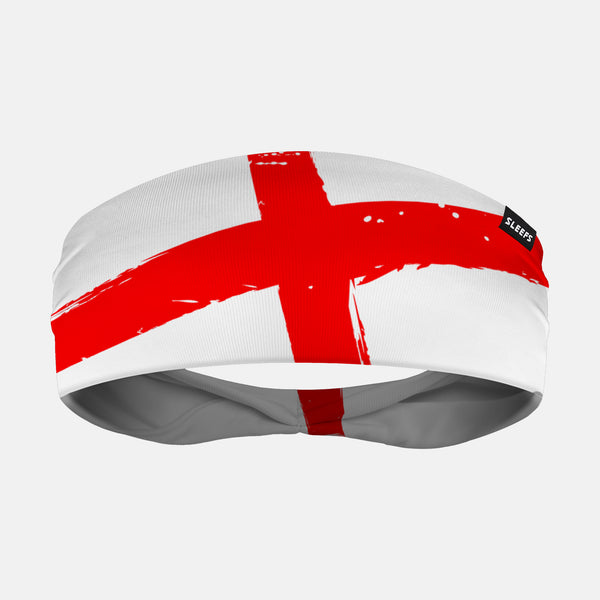 England Brushed Flag Headband