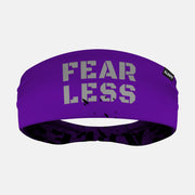 Fearless Purple Double Sided Headband
