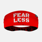 Fearless Red Double Sided Headband