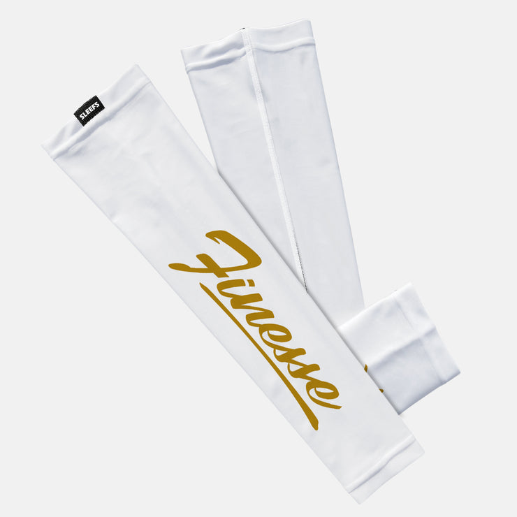 Finesse White Gold Kids Arm Sleeve