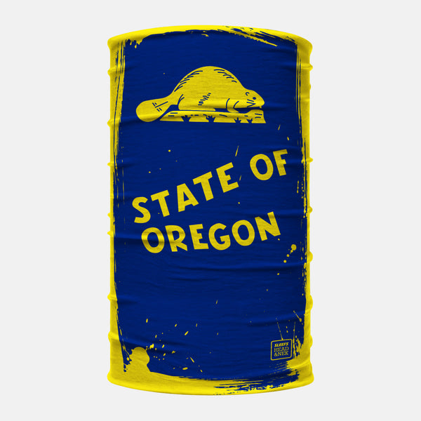Oregon Flag Head N Nek