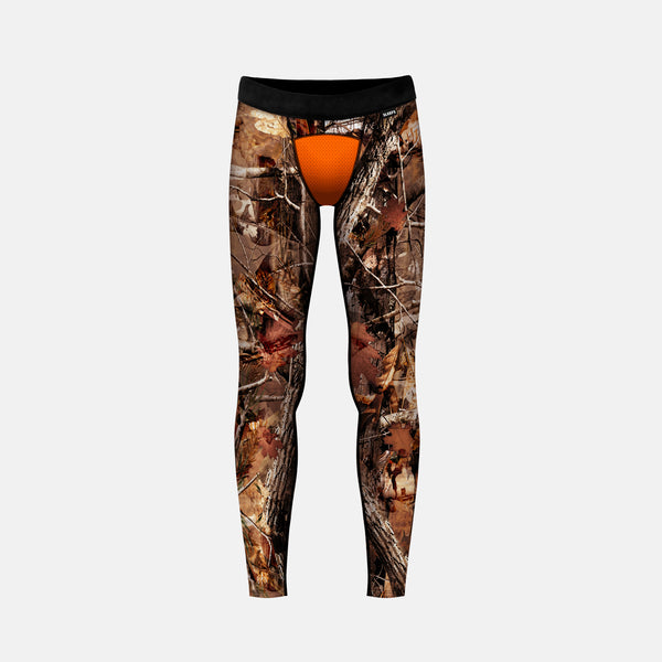 Forest Orange Tight for Kids