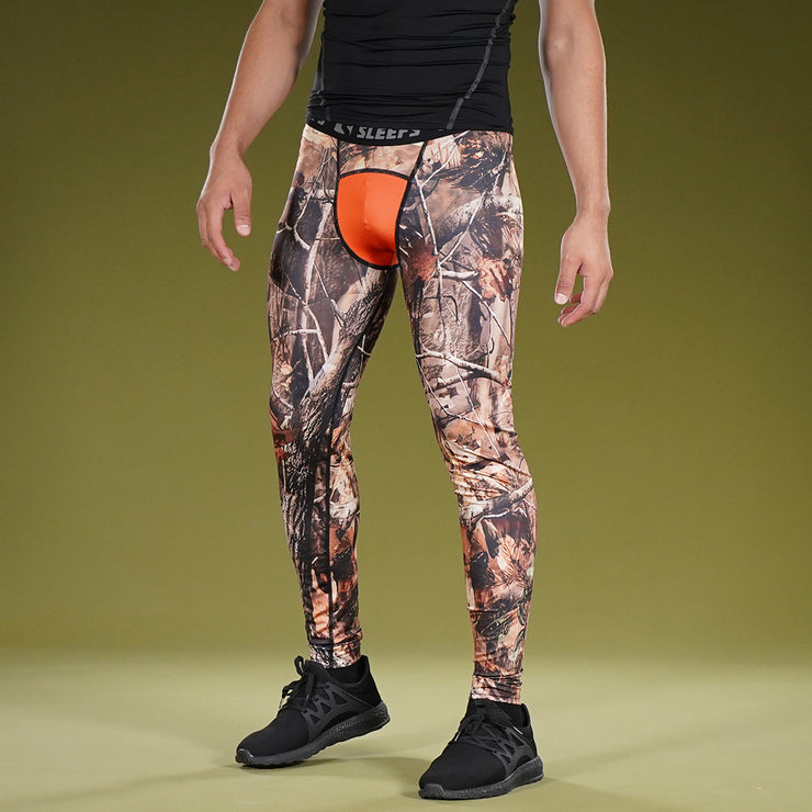 Forest Orange Tight for men