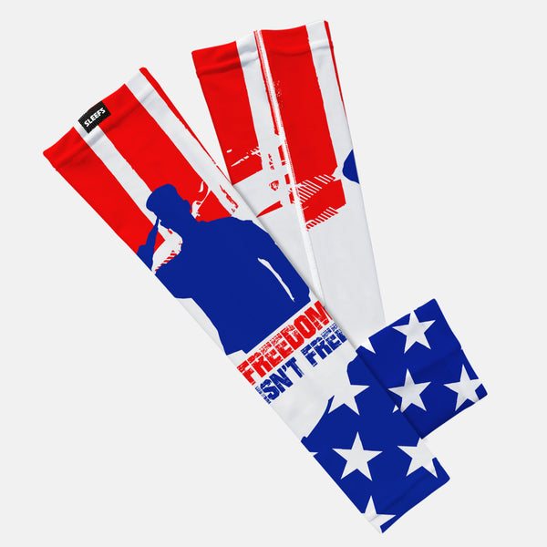 Freedom Isn't Free USA Flag Kids Arm Sleeve