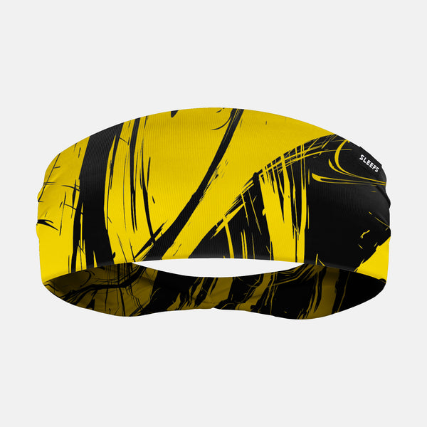 Fury Yellow Black Headband