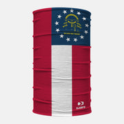 Georgia State Flag Neck Gaiter