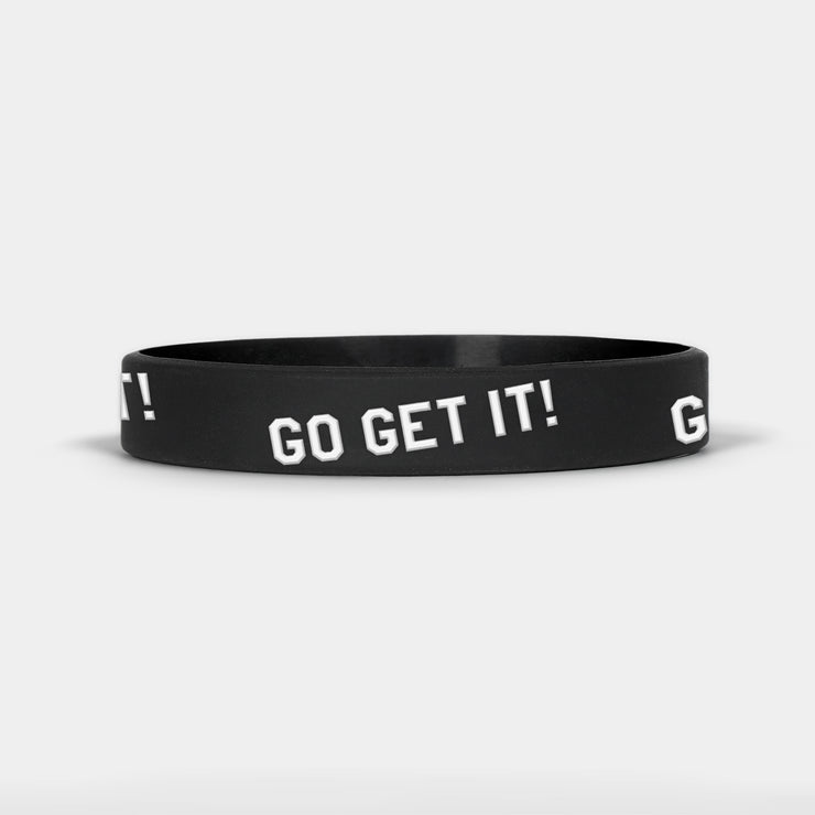 Go Get It Motivational Wristband