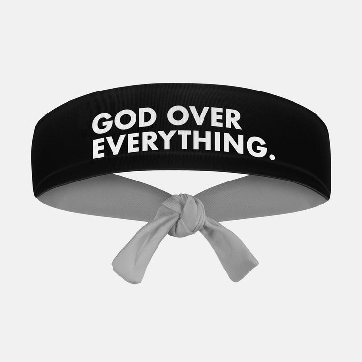 God Over Everything Kids Tie Headband