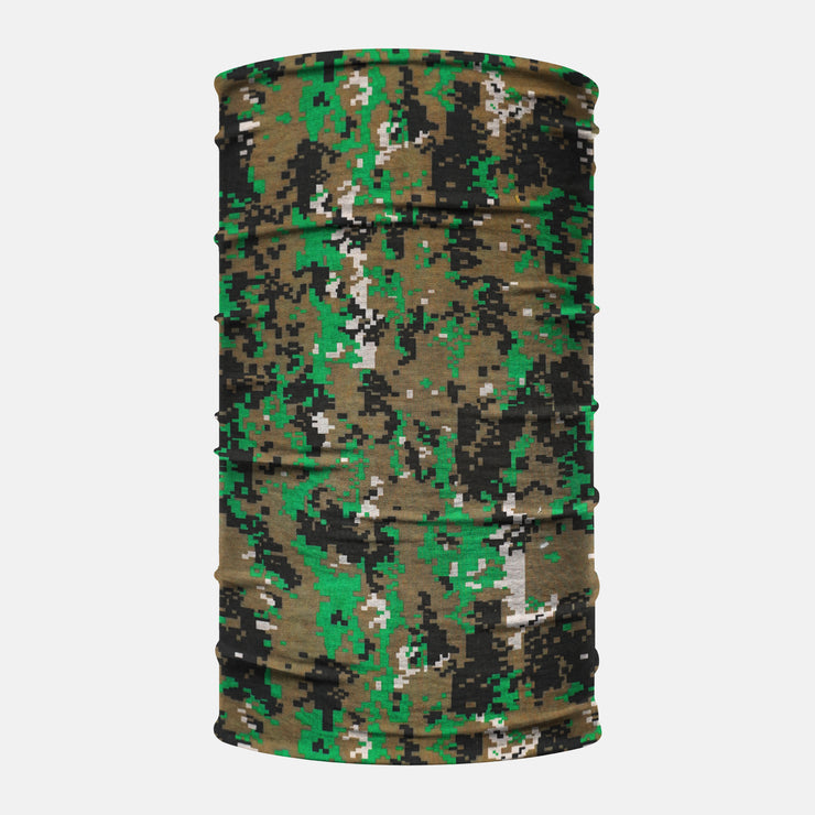 Green Forest Digital Camo Neck Gaiter