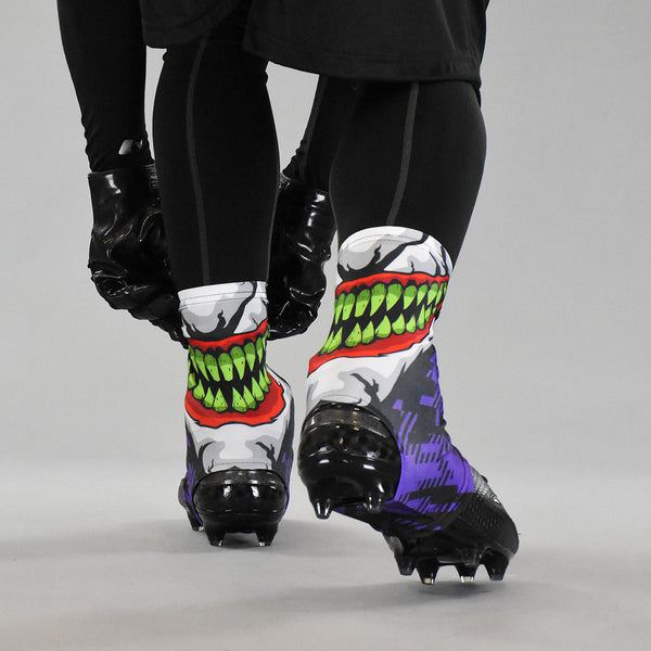 Green Grin Spats Cleat Covers Sleefs