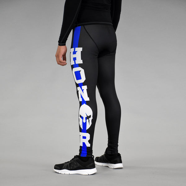 Honor Ancient Helmet Thin Blue Line Tights for men