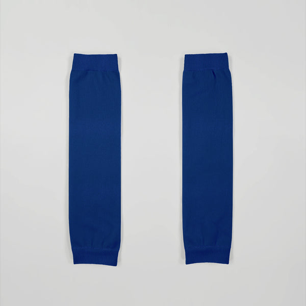 Hue Navy Kids Football Leg Sleeves