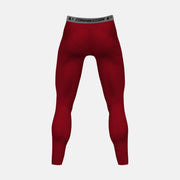 Cardinal Red Solid Tights for men