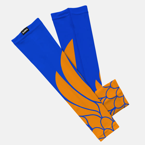 Icarus Blue And Orange Kids Arm Sleeve