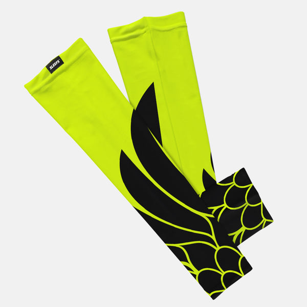 Icarus Safety Yellow Kids Arm Sleeve