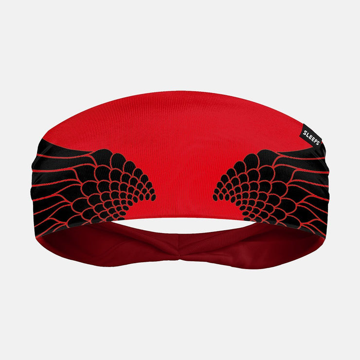 Icarus Red And Black Headband