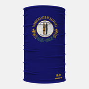 Kentucky State Flag Neck Gaiter