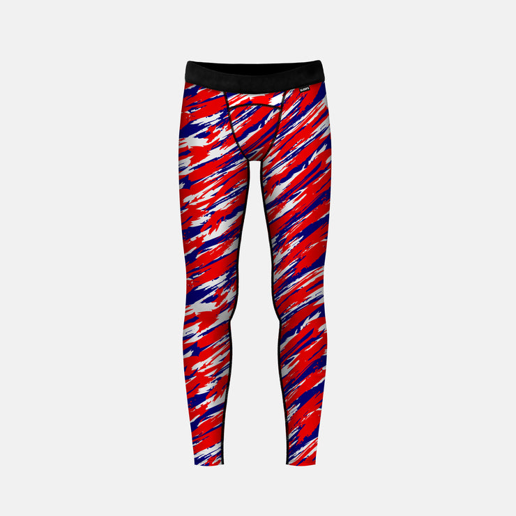 Tryton Red Blue White Tights for kids