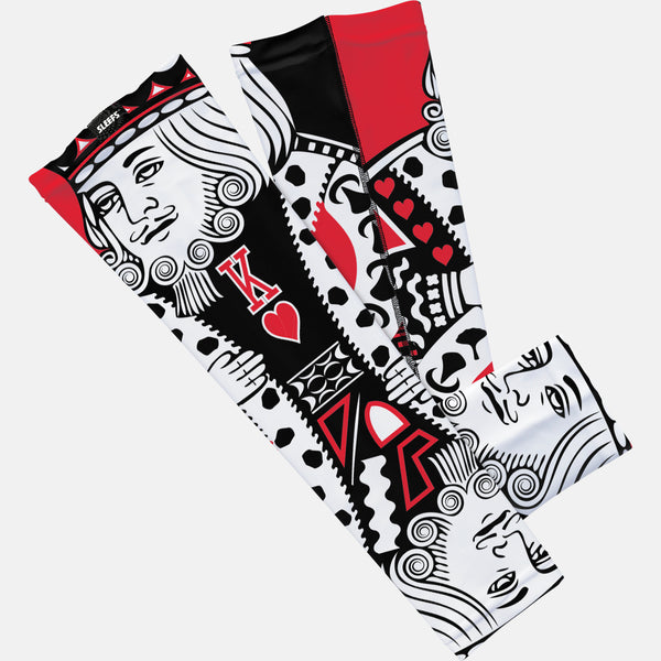 King Of Hearts Red Arm Sleeve
