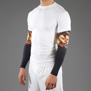 Lion Black Running Sleeves