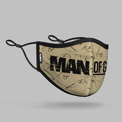 Man of God Face Mask With Nose Shape