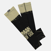 Man of God Black Old Gold Kids Arm Sleeve