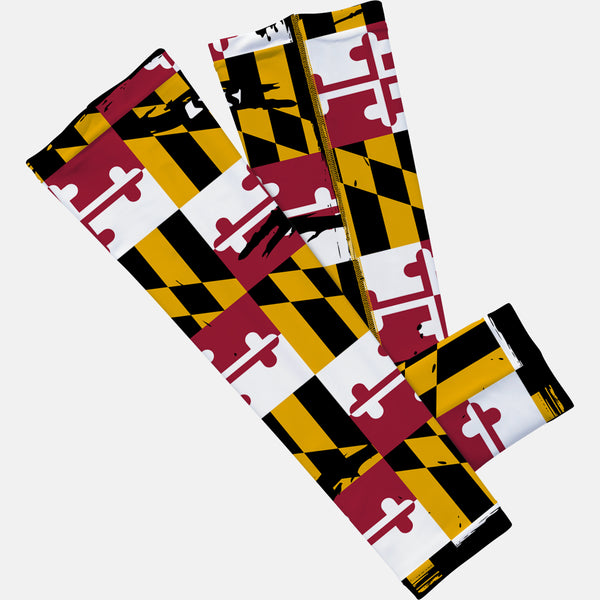 Maryland Beast State Flag Arm Sleeve