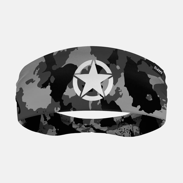 Military Star Corrosive Black OPS Headband
