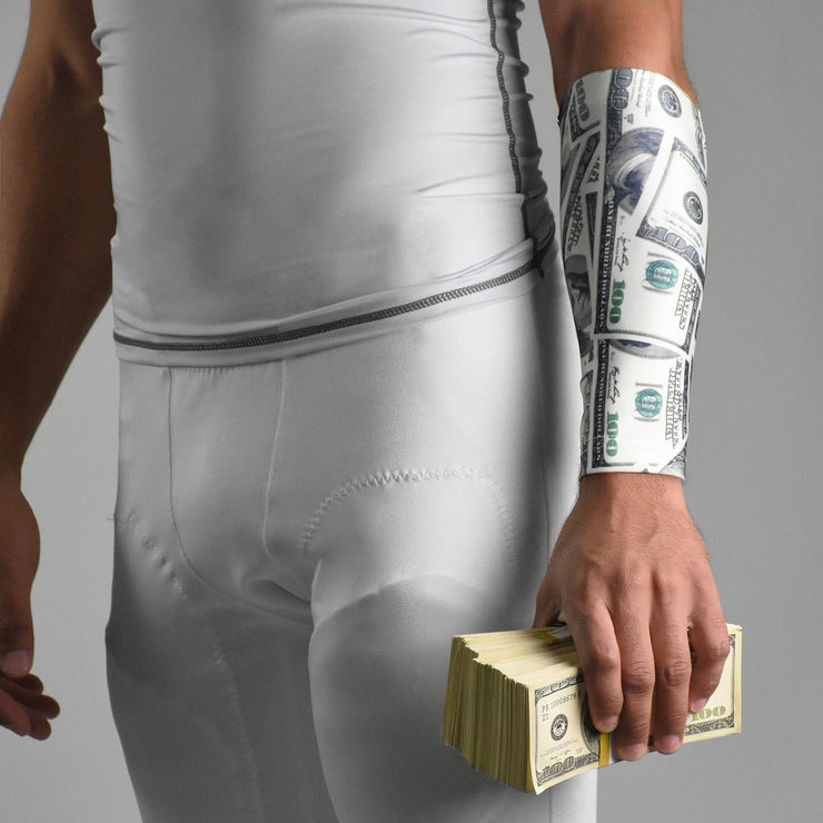 Money Benjamins Forearm Compression Sleeve