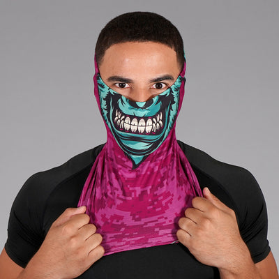Monster Face Mask Neck Gaiter