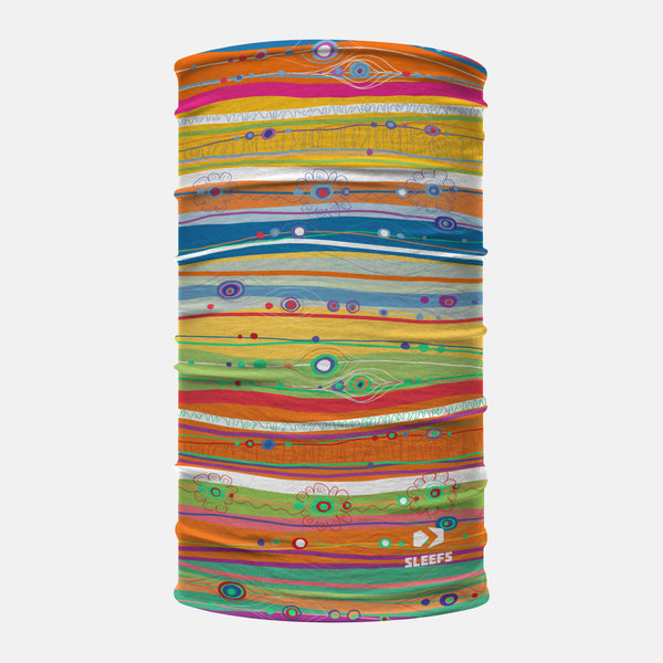 Multicolor Meditation Neck Gaiter