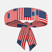 USA Flag Pattern Ninja Headband