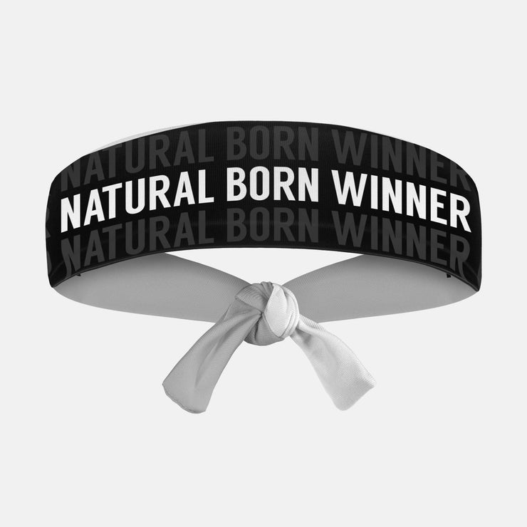 Natural Born Winner Kids Tie Headband