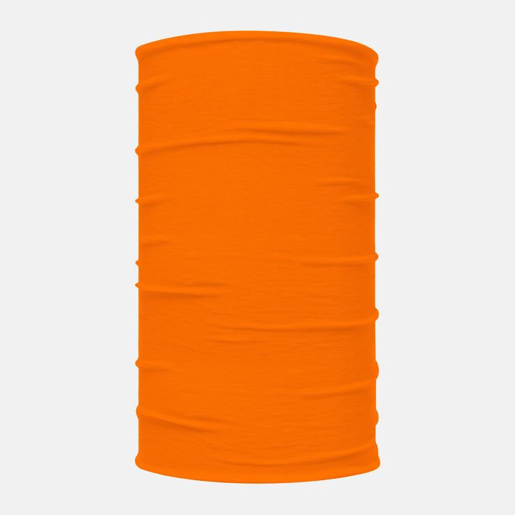 Neon Orange Neck Gaiter