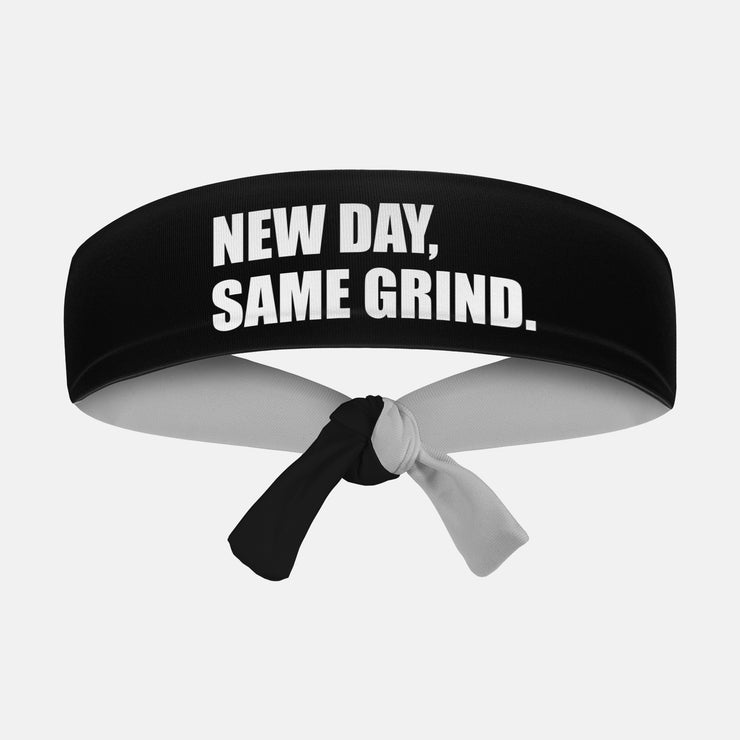 New Day, Same Grind Kids Tie Headband