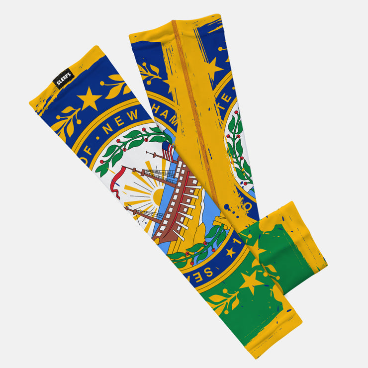 New Hampshire State Flag Kids Arm Sleeve