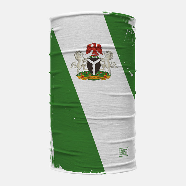 Nigeria Brushed Flag Head N Nek