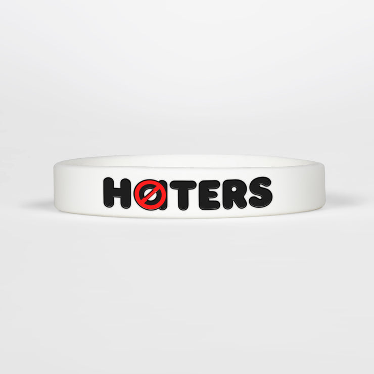 No Haters Motivational Wristband