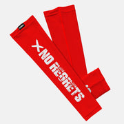 No Regrets Red Kids Arm Sleeve