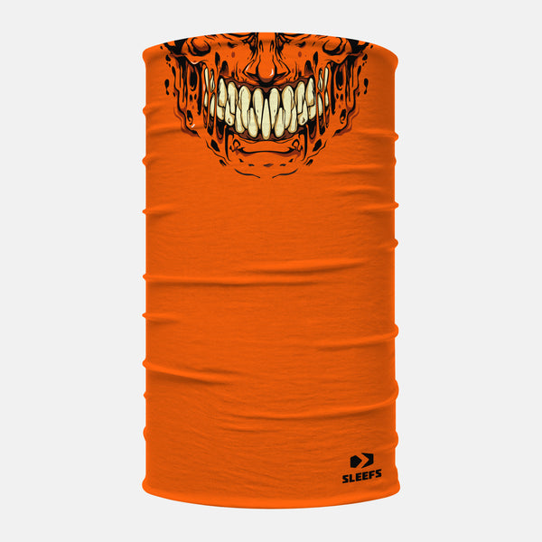 Orange Slime Neck Gaiter
