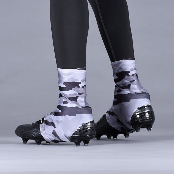 Original Camo Charcoal Spats / Cleat Covers