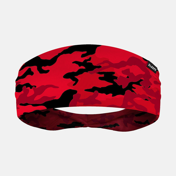 Original Camo Red Headband