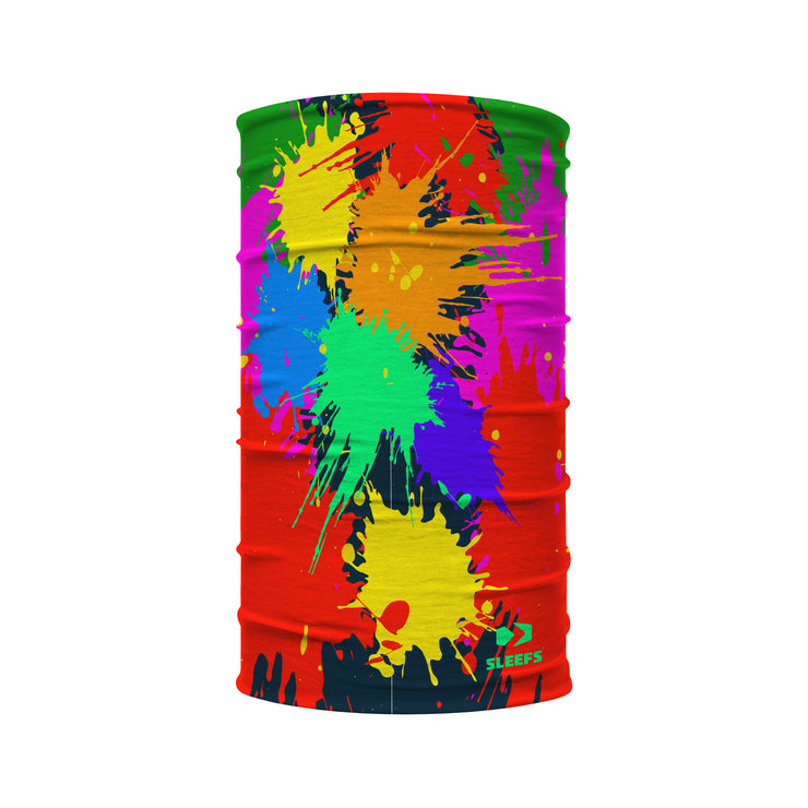 Paint Splatter Kids Neck Gaiter