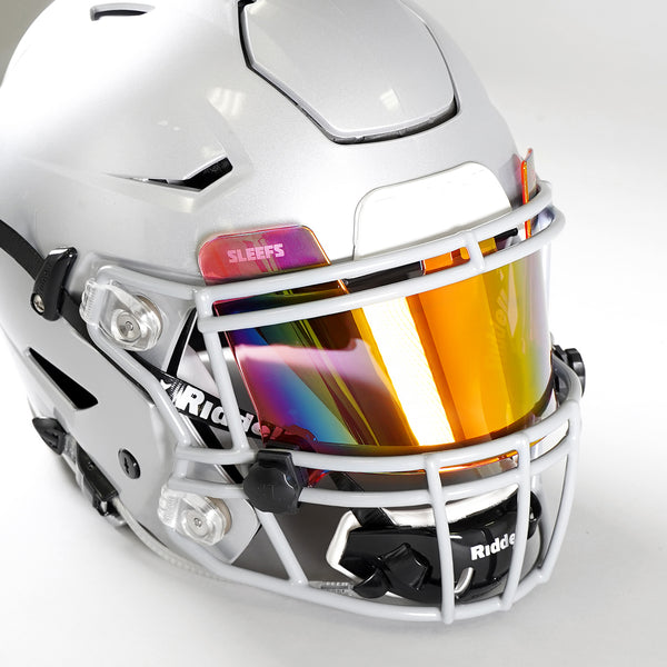 Pink Borealis Helmet Eye-Shield Visor
