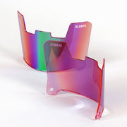 Pink Green Borealis Helmet Eye-Shield Visor